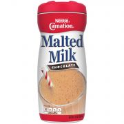 Nestle Carnation Chocolate Malted Milk, 13 Ounce -- 6 per case.