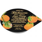 Dickinson Orange Marmalade, 1/2 Ounce -- 200 per case.