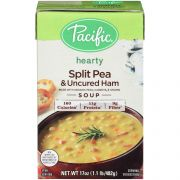 Pacific Foods Organic Split Pea and Uncured Ham Soup, 17 Ounce -- 12 per case