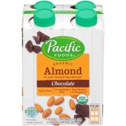 Pacific Foods Organic Naturally Chocolate Almond Beverage, 32 Fluid Ounce -- 6 per case