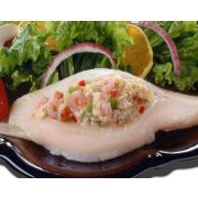 New Wave Kaptains Ketch Vegas Stuffed Flounder with Crab, 8 Ounce -- 10 per case.