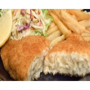 New Wave Kaptains Ketch Breaded Stuffed Flounder with Crab Imperial, 6 Ounce -- 14 per case.