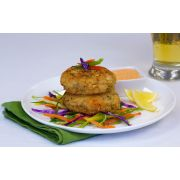 King and Prince Gourmet Lobster and Seafood Cake, 3 Ounce -- 4 per case.