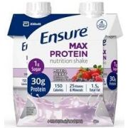 Ensure Mixed Berry Max Protein Nutrition Shake, 11 Fluid Ounce -- 12 per case