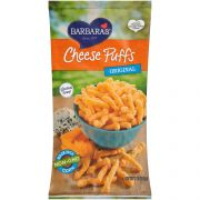 Barbaras Bakery Natural Cheese Puffs, 7 Ounce -- 12 per case