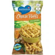 Barbaras Bakery Cheese Puffs - Jalapeno, 7 Ounce -- 12 per case