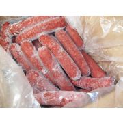 Tasty Brand 6 inch Skinless Red Pork and Beef Smoked Sausage, 10 Pound -- 1 each.