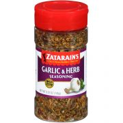 Zatarains Big and Zesty Garlic and Herb Creole Seasoning, 5.12 Ounce -- 6 per case.