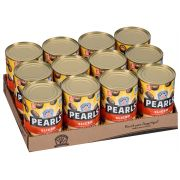 Pearls Black Ripe Sliced Olives, 6.5 Ounce -- 12 per case.