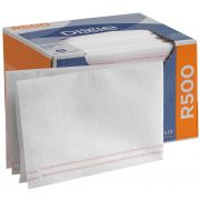 GP Pro Dixie R500 White and Red Stripe Disposable Foodservice Towel, 160 count per pack -- 1 each