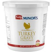 Nestle Minors Concentrate No Added MSG Turkey Gravy, 13.6 Ounce -- 6 per case.