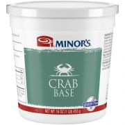 Nestle Minors No Added MSG Crab Base, 1 Pound -- 6 per case.