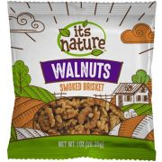 Its Nature Smoked Brisket Walnuts, 1 Ounce -- 150 per case