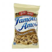 Famous Amos Chocolate Chip Cookies, 3 Ounce -- 60 per case.