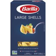 Barilla Large Shells Pasta, 16 Ounce -- 12 per case.
