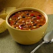 Blount Fine Foods Three Bean Chili - 4 lb. package, 4 per cse