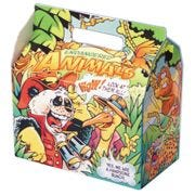 Dixie Endangered Species Barn Style Carryout Carton, Kids Meal -- 250 per case.