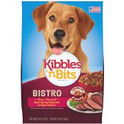 Kibbles N Bits Bistro Beef Dog Food, 3.5 Pound -- 4 per case.
