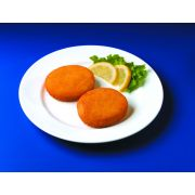 Breaded Fish Cake, 2 Ounce of 78-81 Pieces, 10 Pound -- 1 each.