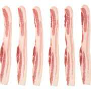 Tyson Wright Brand Natural Applewood Smoked Bacon, 15 Pound -- 1 each.