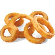 Commodity Potatoes 3/8 inch Gourmet Breaded Onion Ring, 2.5 Pound -- 6 per case.