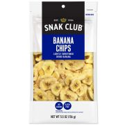 Century Snacks Snak Club Premium Pack Banana Chips, 5.5 Ounce -- 6 per case