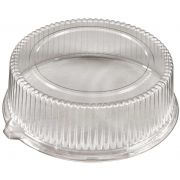 PartiPak PETE Round Everyday Fluted Dome Lid Tray, 12 inch -- 50 per case.