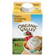 Organic Valley Ultra Pasteurized Heavy Whipping Cream, 16 Fluid Ounce -- 12 per case