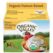 Organic Valley Ultra Pasteurized Heavy Whipping Cream, 8 Fluid Ounce -- 12 per case