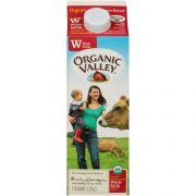 Organic Valley Ultra Pasteurized Whole Milk, 32 Fluid Ounce -- 12 per case
