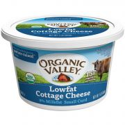 Organic Valley Organic Lowfat 2 Percent Cottage Cheese, 16 Ounce -- 6 per case