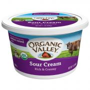 Organic Valley Organic Sour Cream, 16 Ounce -- 6 per case