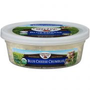 Organic Valley Organic Blue Cheese Crumble, 4 Ounce -- 12 per case