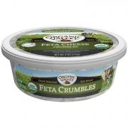 Organic Valley Feta Cheese Crumbles, 4 Ounce -- 12 per case