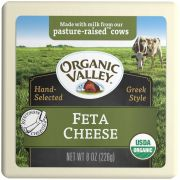 Organic Valley Organic Feta Cheese, 8 Ounce -- 12 per case