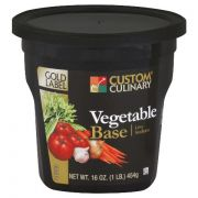 Custom Culinary Gold Label Vegetable Base, 20 Pound -- 1 each.