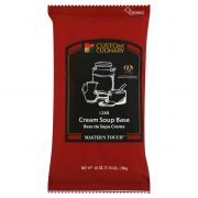 Custom Culinary Masters Touch Cream Soup Base, 28 Ounce -- 6 per case.
