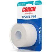 Johnson and Johnson Coach Sports Tape, 1.5 inch x 10 Yard -- 24 per case.