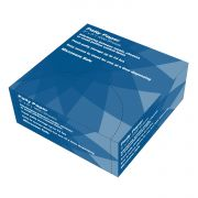 Impact Products White Dry Waxed Patty Paper, 5 inch Length x 5 inch Width -- 1 each.
