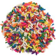 TR Toppers Rainbow Sprinkles, 10 Pound Box -- 1 each.