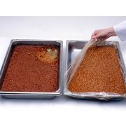 M and Q Packaging Corp PanSaver Hotel Ovenable Pan Liner - Medium and Shallow, 34 x 12 inch -- 500 per case.