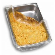 M and Q Packaging Corp PanSaver Hotel Ovenable Pan Liner - Deep, 34 x 18 inch -- 250 per case.