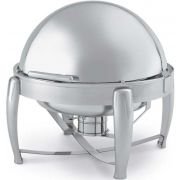 Vollrath Deluxe Round Roll Top Chafer, 7 Quart -- 1 each