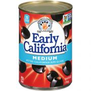 Early California Medium Pitted Ripe Olives, 6 Ounce -- 12 per case.