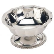 Crestware Stainless Steel Sherbet Dish, 3 Ounce -- 1 each.