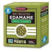 Seapoint Farms Spicy Wasabi Dry Roasted Edamame, 6.35 Ounce -- 12 per case