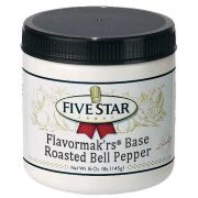 Five Star Roasted Red Bell Pepper Base, 1 Pound -- 6 per case.
