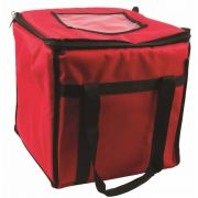San Jamar Red Insulated Food Carrier, 12 x 12 x 12 inch -- 1 each.