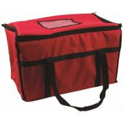 San Jamar Red Color Insulated Food Carrier, 12 x 22 x 12 inch -- 1 each.