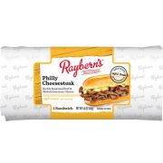 Rayberns Philly Cheesesteak Wrapped Sandwich - Display -- 8 per case.